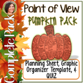 Point of View Pumpkin Pack! (*Common Core*) ELA
