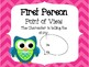 Point of View QR Code Scoot Activity