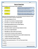 Point of View Quiz- Elementary/EarlyMiddle