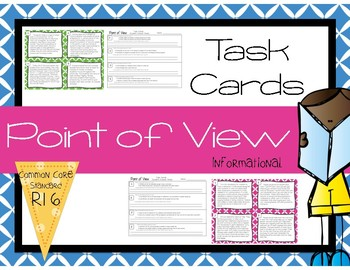 Point of View RI6 Task Cards