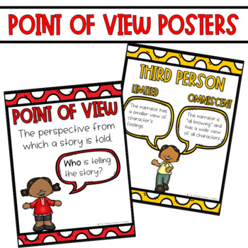 Point of View RL.3.6 Activities and Task Cards