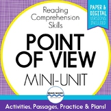 Point of View Passages and Activities to Understand an Author's Point of View