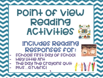 Point of View Reading Response Activities