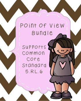 Point of View Resource Bundle Common Core Standard RL.5.6