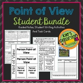 Point of View Resource Bundle - Task Cards, Student Notes,