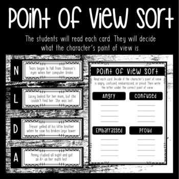 Point of View Set 2