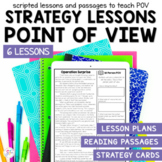 Point of View - Small Group Reading Lesson Plans and Passages