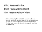 Point of View Sort Group Activity