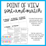 Point of View Sort-n-Match Activity