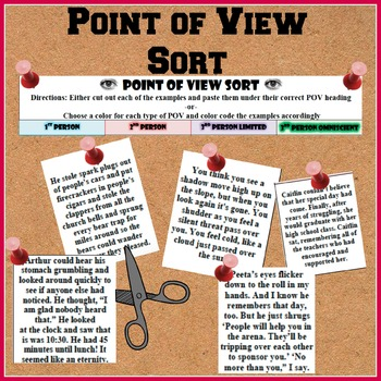 Point of View Sort/jumble