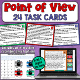 Point of View Task Cards   PDF and Digital   Distance Learning