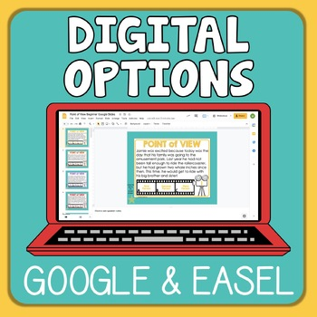 Point of View Task Cards Beginner Set
