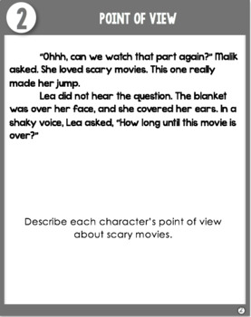 Point of View Task Cards (Differentiated)