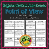 Point of View Task Cards - Differentiated