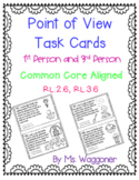 Point of View Task Cards, First and Third Person