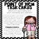 Point of View Task Cards (RL3.6 and RI3.6)