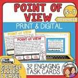 Point of View Task Cards with Easel Activity Option Advanced Set