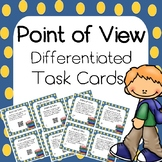Point of View Task Cards- Differentiated- with and without QR Scan Codes