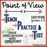 POINT OF VIEW POWERPOINT AND NOTES: TEACH, PRACTICE, TEST