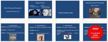 Point of View - Teaching Toolkit