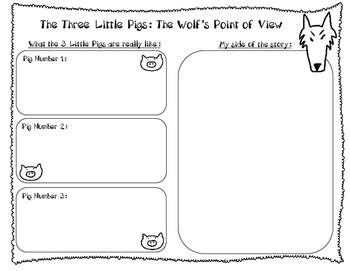 Point of View - Three Little Pigs