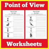Point of View Worksheet Activity