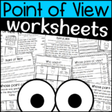 Point of View Worksheets and Writing Pages