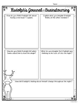 Point of View Writing Activity - Rudolph's Story