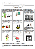 Point of View Writing Tasks and Anchor Charts