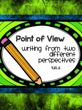 Point of View - Writing from DIfferent Perspectives