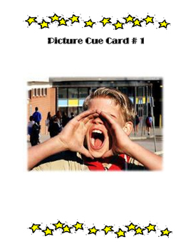 Point of View Writing with Picture Cue Cards