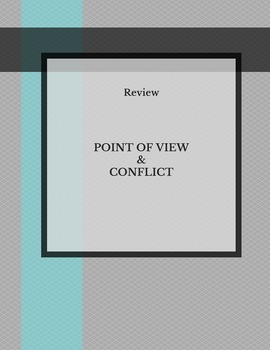 Point of View and Conflict Cartoon QR review