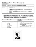 Point of View and Perspective Handout