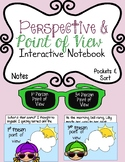 Point of View Interactive Notebook: Notes, Pockets & Sort