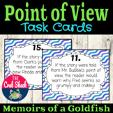 Point of View and Perspective Task Cards- Memoirs of a Goldfish