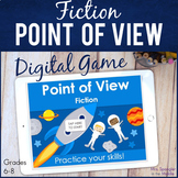 Point of View in Fiction DIGITAL Skill Practice Game | Dis