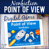 Point of View in Nonfiction DIGITAL Practice Game | Distan