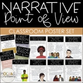 Narrative Point of View - Student Handout & Classroom Poster Set with Excerpts