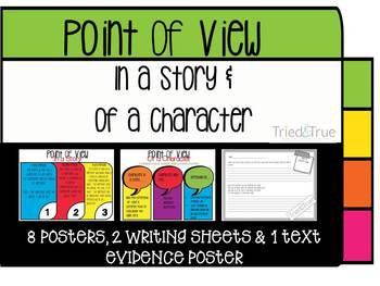 Point of View of a Story and of a Character ~ Middle and H