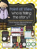 Point of View reading posters, handout & bookmarks, Interactive notebook, CCSS