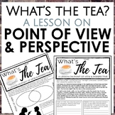 Distance Learning: Point of View vs Perspective Worksheets