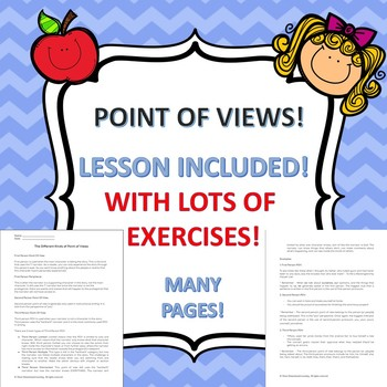 Point of Views: Lesson with Exercises!