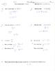 Point slope form slope intercept form practice quiz test w