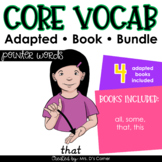 Pointer Words Core Vocabulary Adapted Book Bundle [Level 1