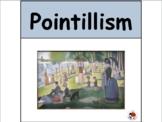 Pointillism + Art Activity