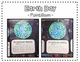 Pointillism Earth Day Art