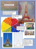Pointillism Eiffel Tower Project