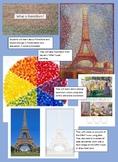 Pointillism Eiffel Tower Project