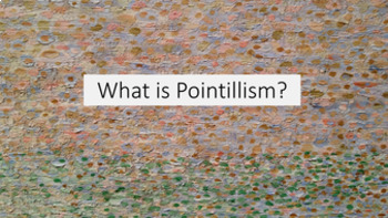 Pointillism Eye Project