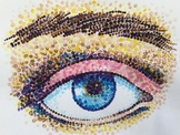 Pointillism Eye Project